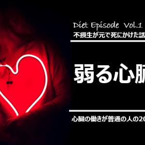弱る心臓 ―不摂生がもとで死にかけた話(7)―