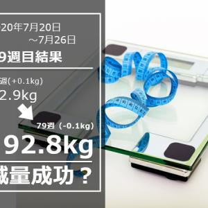 焼肉食べ放題を乗り越えて【公開ダイエット】day553(7/26)&78w結果92.8(週間-0.1)kg