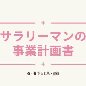 サラリーマンの事業計画書【❻・❼副業戦略・戦術】