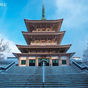 雪の善光寺