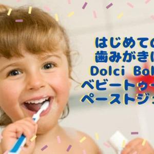ドルチボーレ(Dolci Bolle)ベビートゥースペーストジェル赤ちゃんの歯磨きにおすすめ