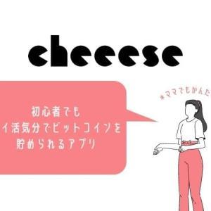 cheeese(チーズ)でビットコインをポイ活みたいに貯めてみた【無知識主婦でもできる】