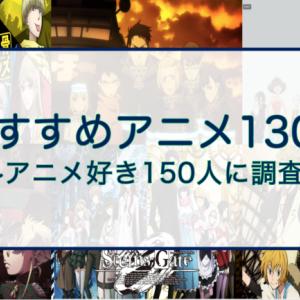 最新版)アニメ好き150人に調査!おすすめアニメ130選(口コミ付)