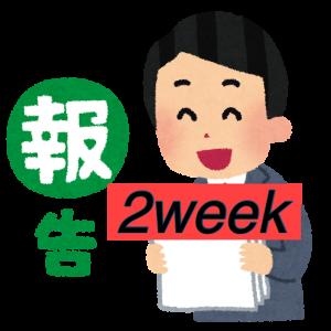 <成果報告>はてなブログ(無料版)初心者高校生の現実:2週目(PV・収入など)