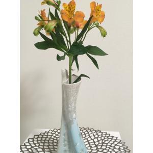 YouTuberとの出会い&バッチャン焼き花瓶の花のある生活