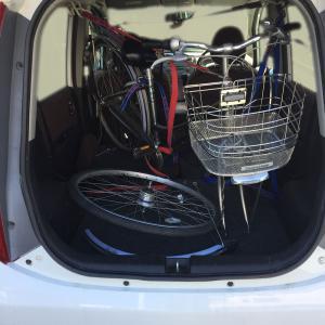 軽乗用車に自転車はハイトワゴンじゃなくても載せられる