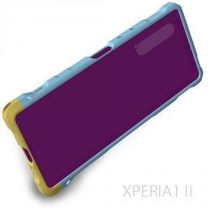 XPERIA1Ⅱ用バンパーの設計中