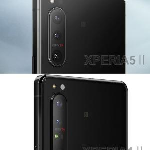 XPERIA5ⅡとXPERIA1Ⅱの比較