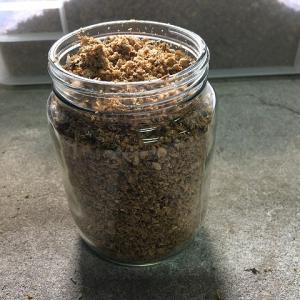 オオクワガタ:菌糸詰め