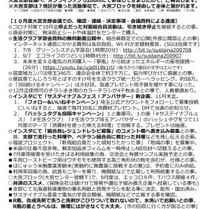 大宮支部会議の報告 9月10月合併号