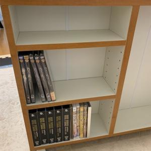 DVDとゲーム類収納の陣!!