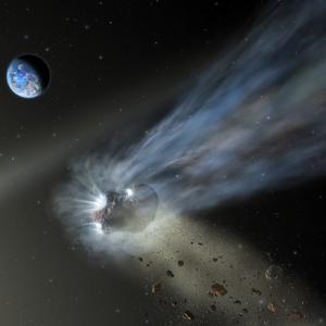 太陽系を通過する彗星の最初の通り道の観測は、予期せぬ秘密を明らかにする