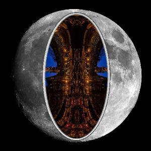 月は人工的な物で、私はそれを証明することができます:エイリアンの観測所