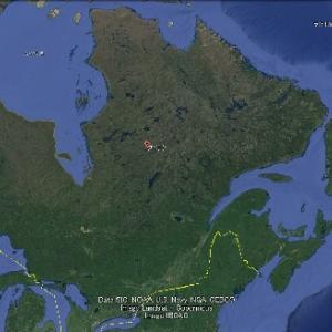 極めて鮮明なUFOの映像が、ケベックでカメラに撮影される