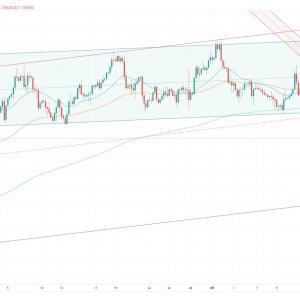 FX スイングトレード EUR/USD ショートでエントリー