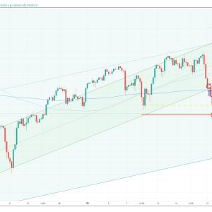 FX 裁量トレード DOW/USD 損切!