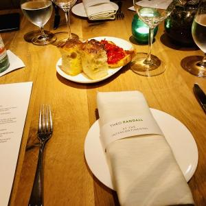 THEO RANDALL at the InterContinental ロンドンのおすすめイタリアンレストラン
