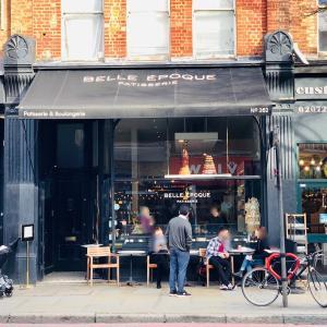 ロンドンのパティスリー Belle Epoque Patisserie(ベル・エポック パティスリー)