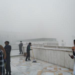 霧の街アムリトサル(デリーも)。おまけ。