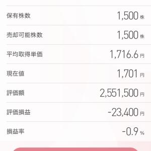 NTTデータ(9613)好決算発表、明日は最低でも5%は上がるとみています…