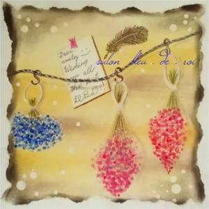 パステルアート『Dried flower』