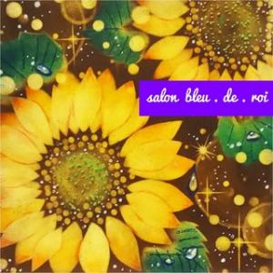 パステルアート『Shining sunflowers』