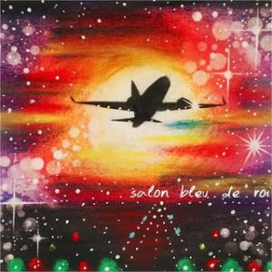 パステル画『Take off』