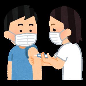 インフルエンザワクチンを接種しました