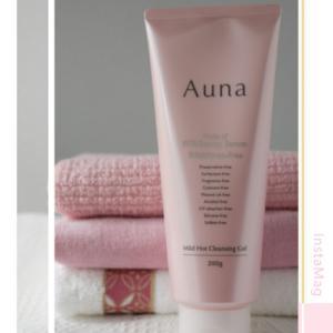 ・界面活性剤不使用❗美容液成分で落とす「auna」のホットクレンジングジェル・