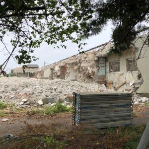 若い頃住んでいた社宅が解体された