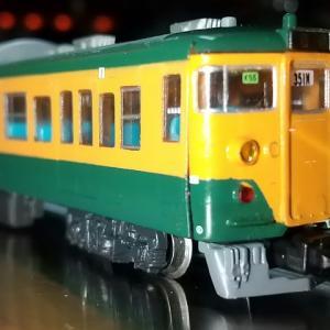 Nゲージ(鉄道模型)メーカー不明の111系先頭車両入手 台車変更