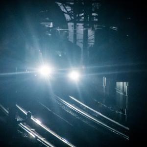 三島にて 夜の新幹線撮影 東海道新幹線N700A