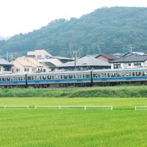 大仁にて 伊豆箱根鉄道駿豆線 3000系、 HAPPY PARTY TRAIN