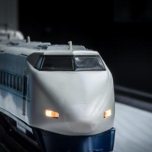 Nゲージ(鉄道模型) 100系新幹線 パーツ再塗装④