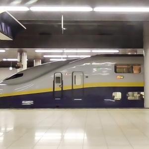 【動画】上野駅ホームに入線するE4系Max かがやき号車窓より 2015年 (1分30秒)