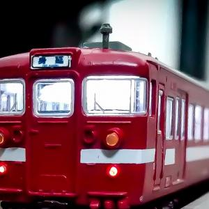 Nゲージ(鉄道模型)身延線115系ぶどう色模型 室内灯前照灯再調整