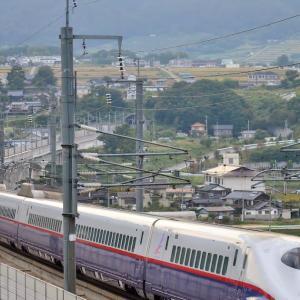 佐久カーブにて 北陸新幹線 E2系 E7系 W7系 2014~2016