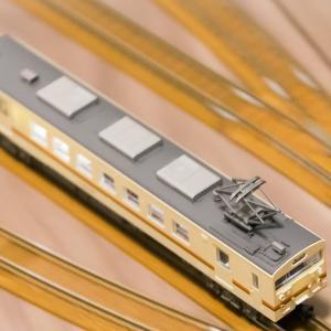 Nゲージ・鉄コレ(鉄道模型)JR123系5042番 アップグレード④ LED室内灯改造とボディの遮光処理