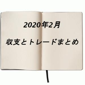 2020年2月の収支とまとめ