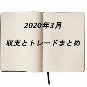 2020年3月の収支とまとめ