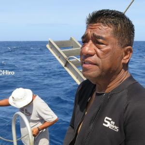 ビキニ環礁ダイブマスターのレジェンド・エドワード