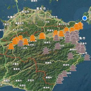 なっ徳島^ ^ 巨石祭りにSL祭り(*´◒`*)徳島城