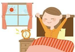 健康問題/睡眠不足解消のための生活習慣の改善