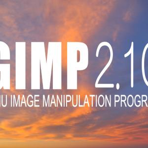 """【GIMP】画像保存する方法「""""名前を付けて保存する""""ではありません」"""