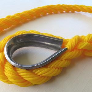 アイスプライス編み込み加工方法【ロープの端に輪っかを作る】