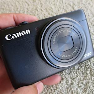 コンパクトデジタルカメラの完全分解【Canon-S120】