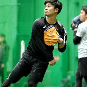 阪神・坂本選手、ダルビッシュ投手から、バッテリーを組みたい日本選手に選ばれる