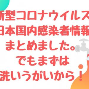 新型コロナウイルス日本人感染者はどこの都道府県にいる?