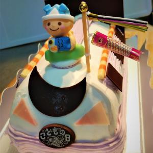 子どもの日をシベールのケーキ【特急シベール】でお祝い☆