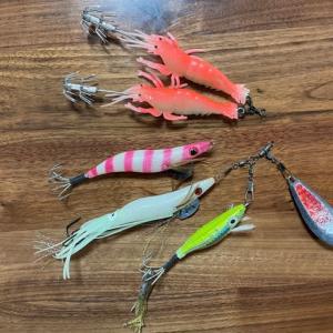 タコ釣り準備開始しましょ、Part2。 なんでもない話、、、。